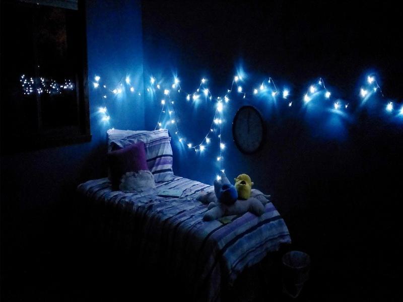 Bedroom Christmas Lighting   Fresh Bedrooms Decor Ideas
